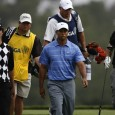 Adam Scott, Tiger Woods, Phil Mickelson — Getty Images
